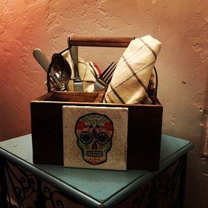 Día de los Muertos. Sugar skull.Caddy